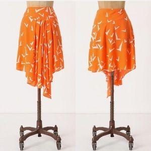 Anthropologie Leifsdottir Scattered Wings Skirt